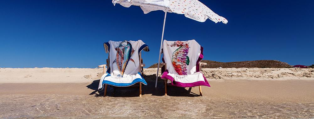Συλλεκτικές πετσέτες θαλάσσης!